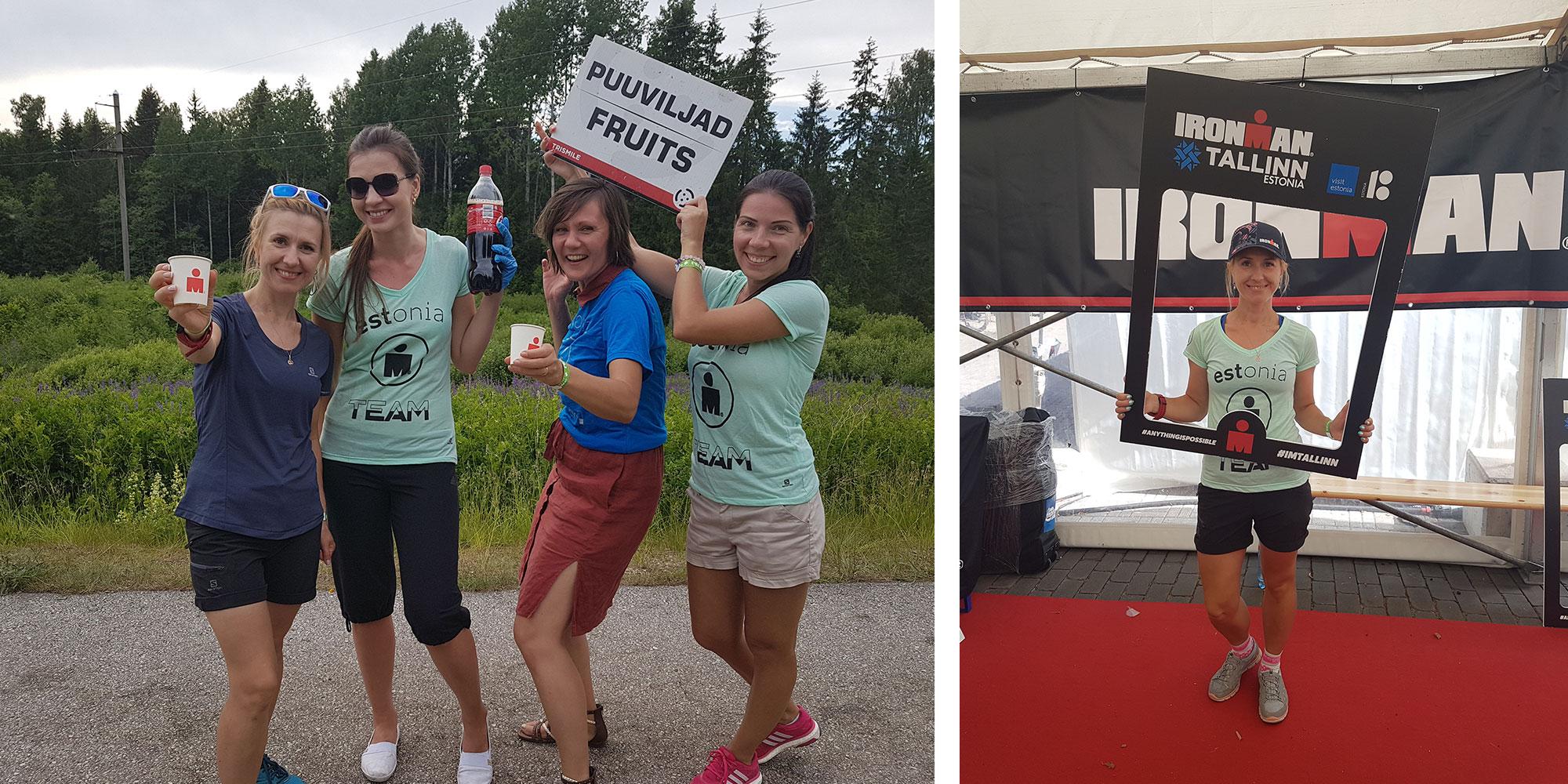 Vabatahtlikena spordiüritustel Ironman