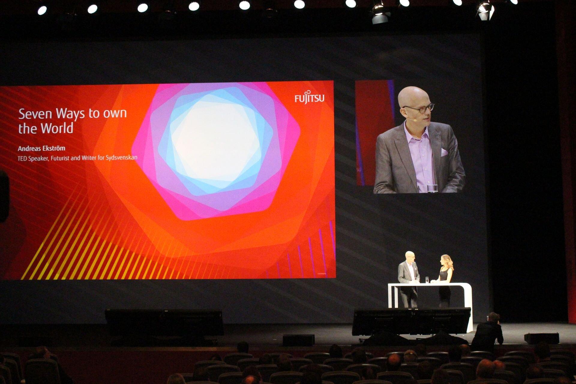 Esines TEDil kõneleja, Rootsi futurist ja kolumnist Andreas Ekström