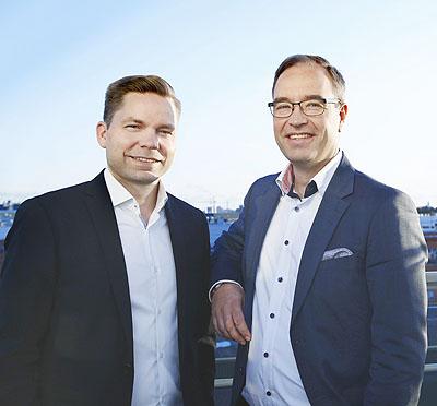 Simo Leisti ja Jussi Tolvanen