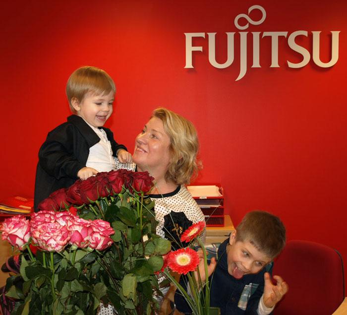 Meie töötajad: Leili koos lastelastega